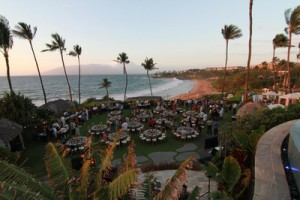 The tables are taken at A Taste of Hawai'i in 2015. Photo courtesy of The Kurt Suzuki Family Foundation.