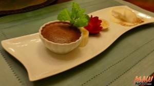 Dessert made by Chef Allain de Leon from GotChefMaui.com. Photo by Kiaora Bohlool.