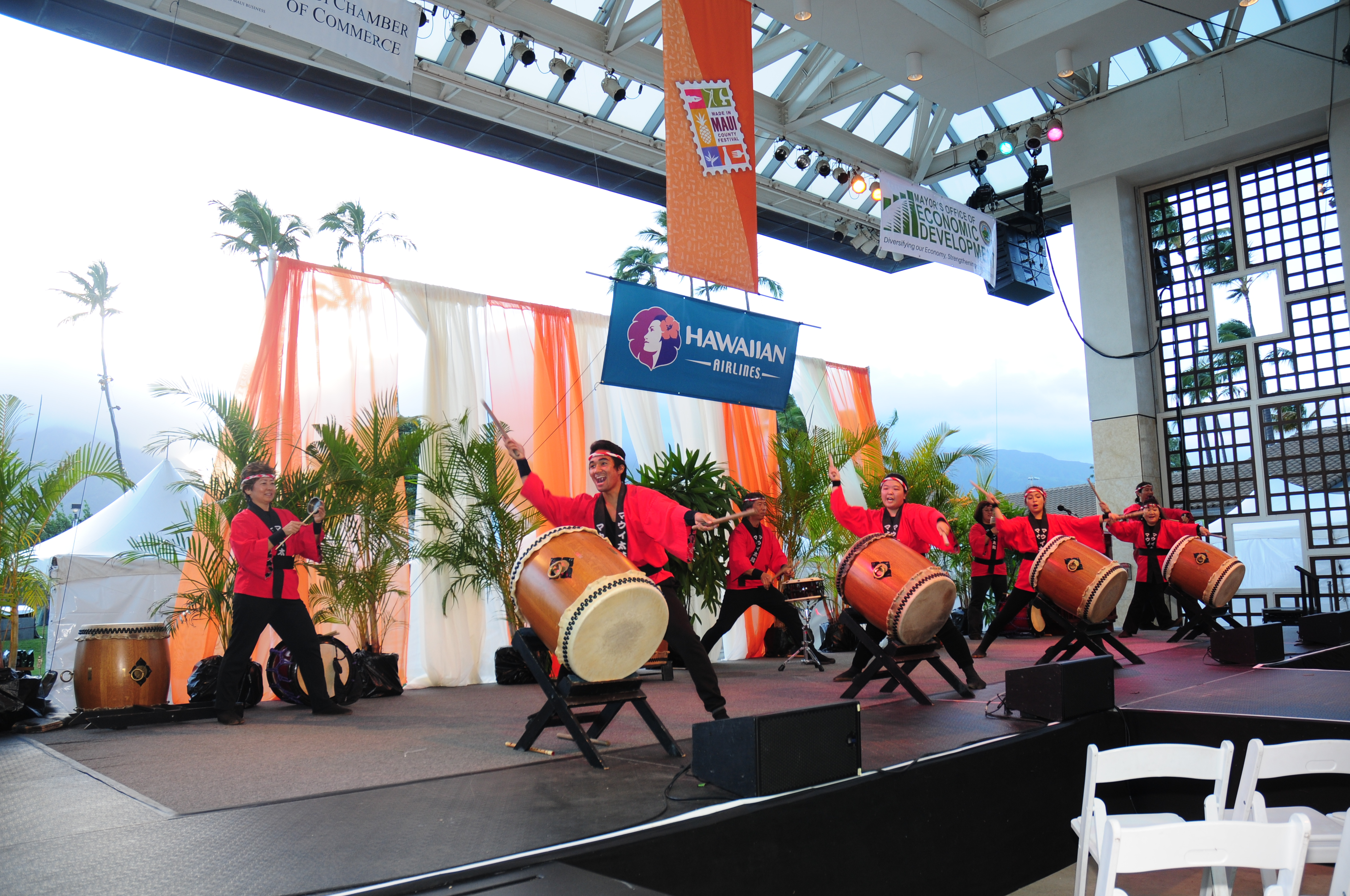 Made in Maui Coutny Festival 2015.