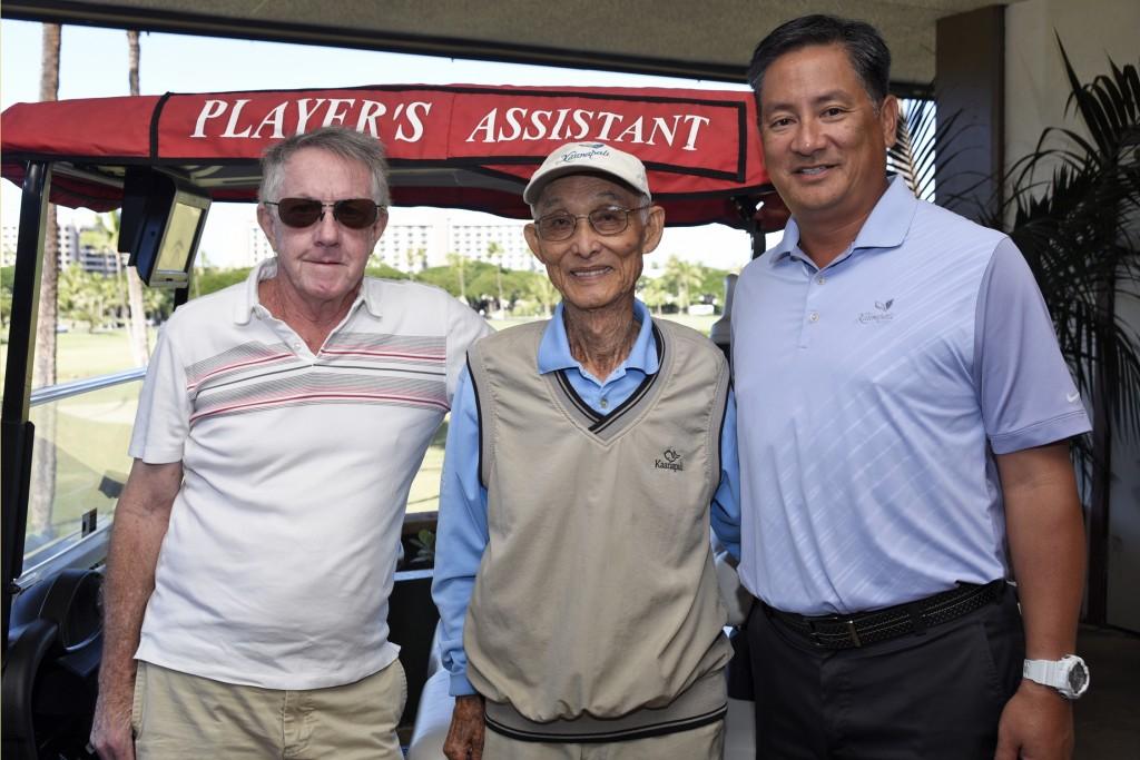 Fields, Sarashina and Kageyama. Image courtesy: Kāʻanapali Golf Courses.