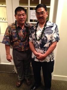 Myles (left) and Aric (right) Nakashima.