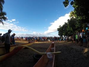 Paddle for Hunger. Photo credit: Hawaiian Paddle Sports.