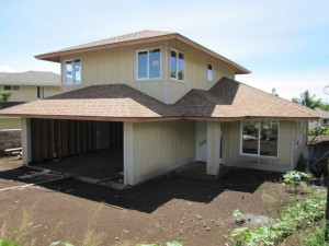 Construction on the Na Hale O Maui affordable Kama Street Waikapu home continues with the goal of a December completion date. The home is expected to sell for $ 250,000 below the market price of $600,000+ and remain affordable in perpetuity and never go to the much higher market price. Courtesy photo.