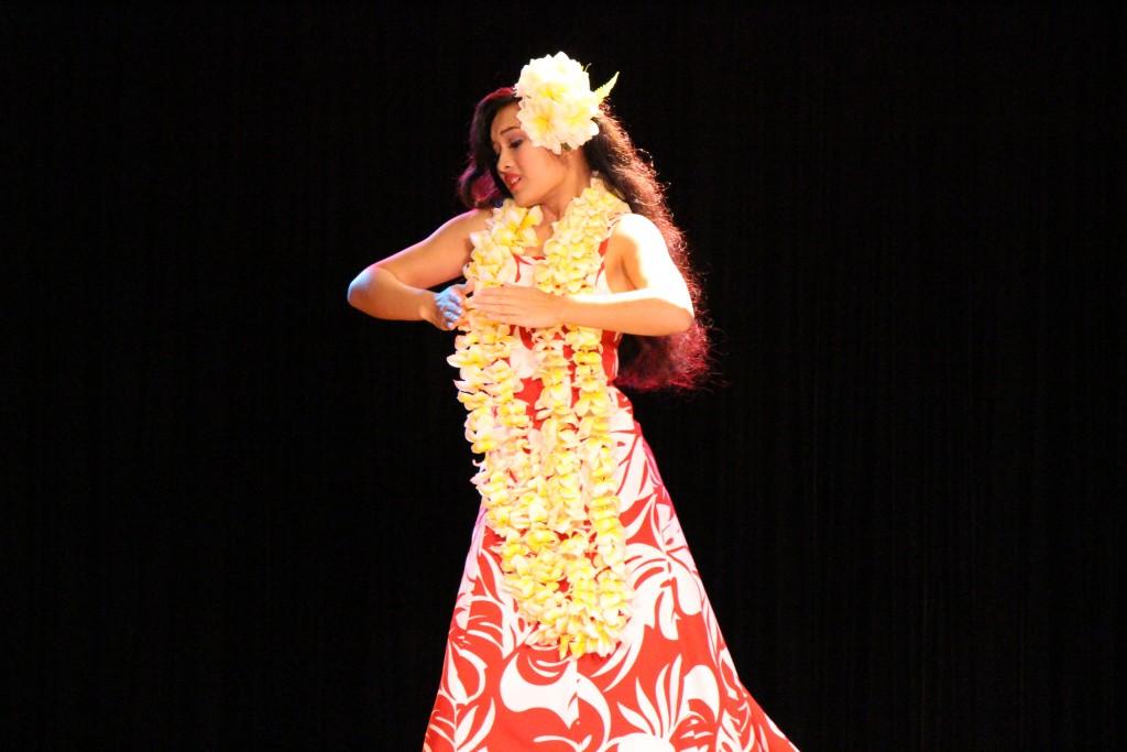 Kyleigh Marie Hokuao Manual-Sagon, Halau Kekuaokalaaualailiahi, Na Kumu Iliahi & Haunani Paredes. Photo by Wendy Osher.