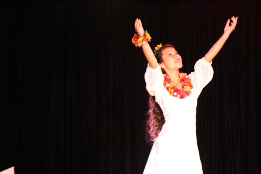 Crimson Nāleialohapauʻʻolekauanoe Kikue Yee. Photo by Wendy Osher.