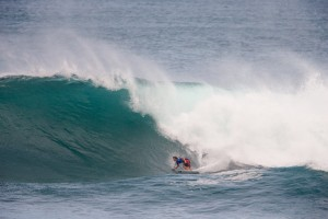 Jack Robinson competes in the final round at the HIC Pro. Photo courtesy of World Surf League (WSL).