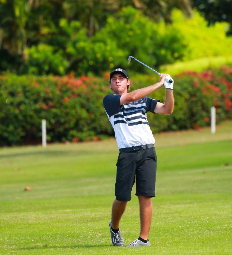 Hawaii, James Moran-Horton. 2015 Kāʻanapali Classic Collegiate Invitational. Photo credit: Aric Becker.