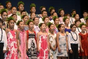 Kahului Elementary at Nā Mele O Maui 2015.