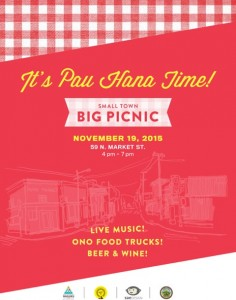 Small Town Big Picnic event flyer.
