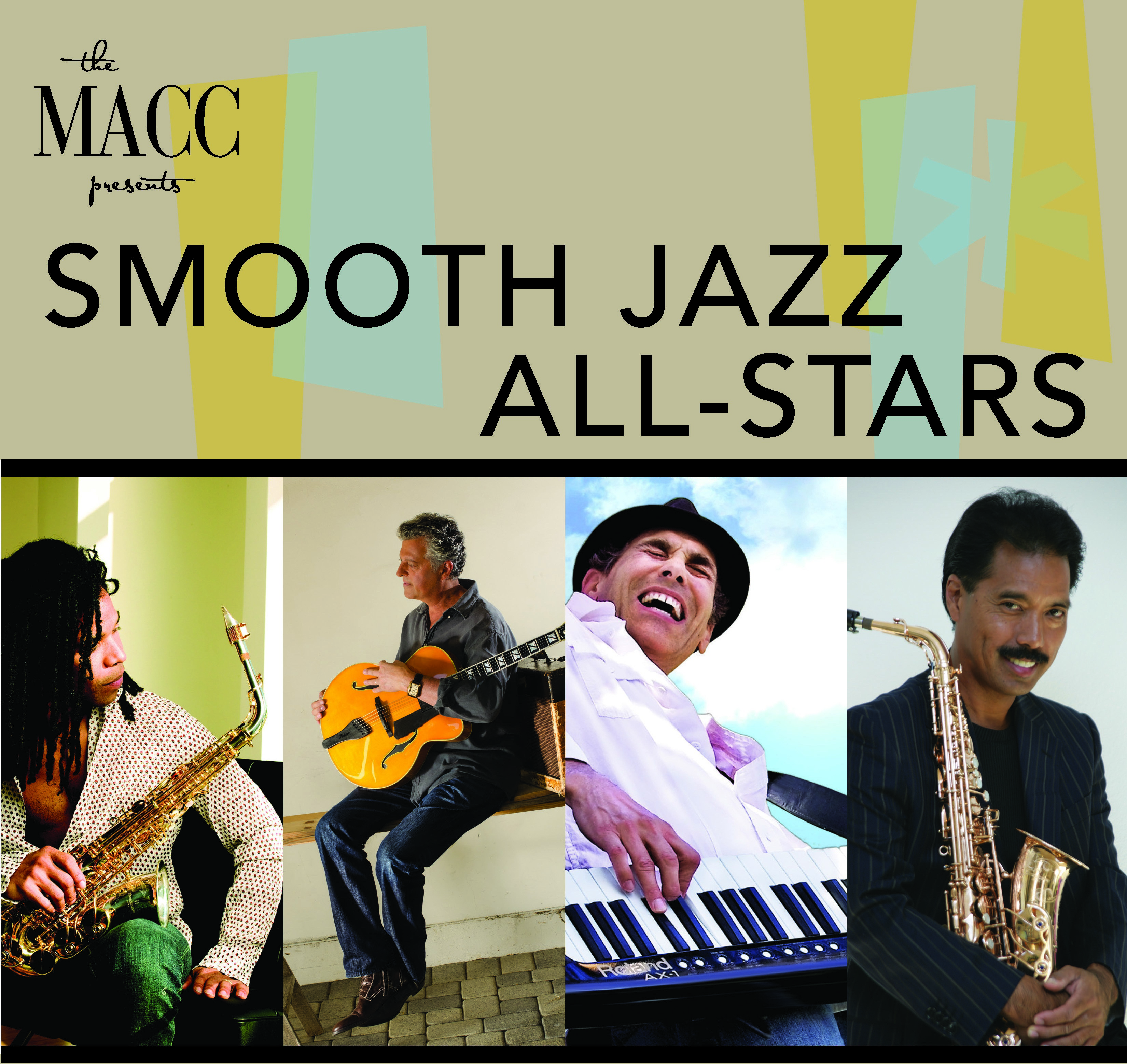 Smooth Jazz All-stars photo provided by The MACC.