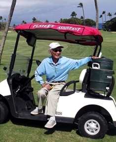 Tommy Sarashina. Image courtesy: Kāʻanapali Golf Courses.