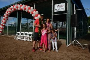 Victorino Family - Batting Cage. Courtesy photo.