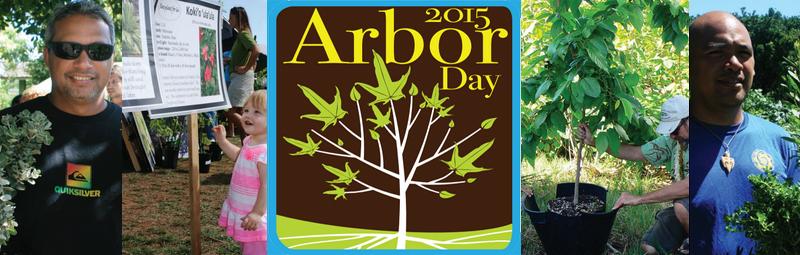 Arbor Day 2015. Image credit: Maui Nui Botanical Gardens.