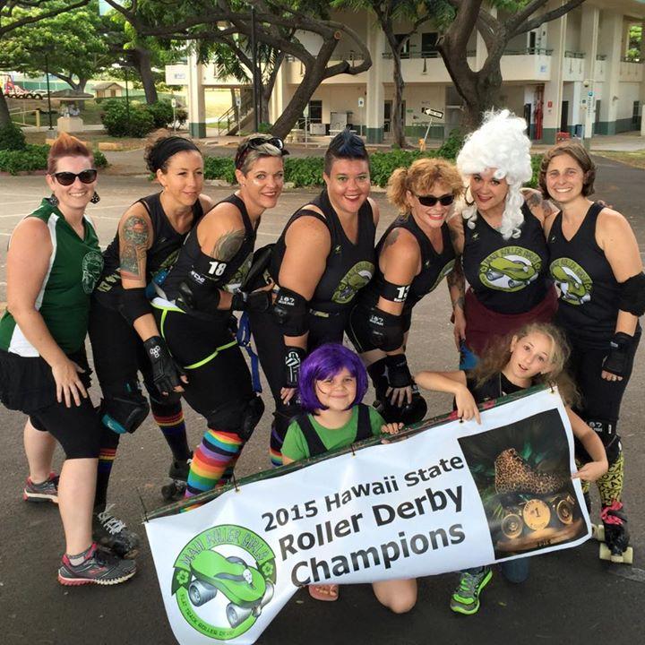 Maui Roller Girls photo.
