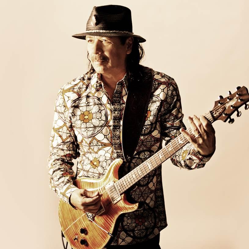 Carlos Santana photo provided by The MACC.