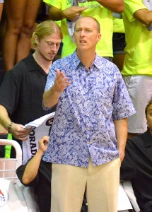 Chaminade head coach Eric Bovaird is now in his fifth season. File photo by Rodney S. Yap.
