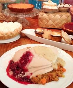 Turkey dinner and treats at Leoda's Kitchen and Pie Shop in Olowalu. Photo courtesy of Leoda's.