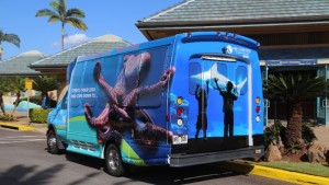 Maui Ocean Center shuttle. Courtesy photo.