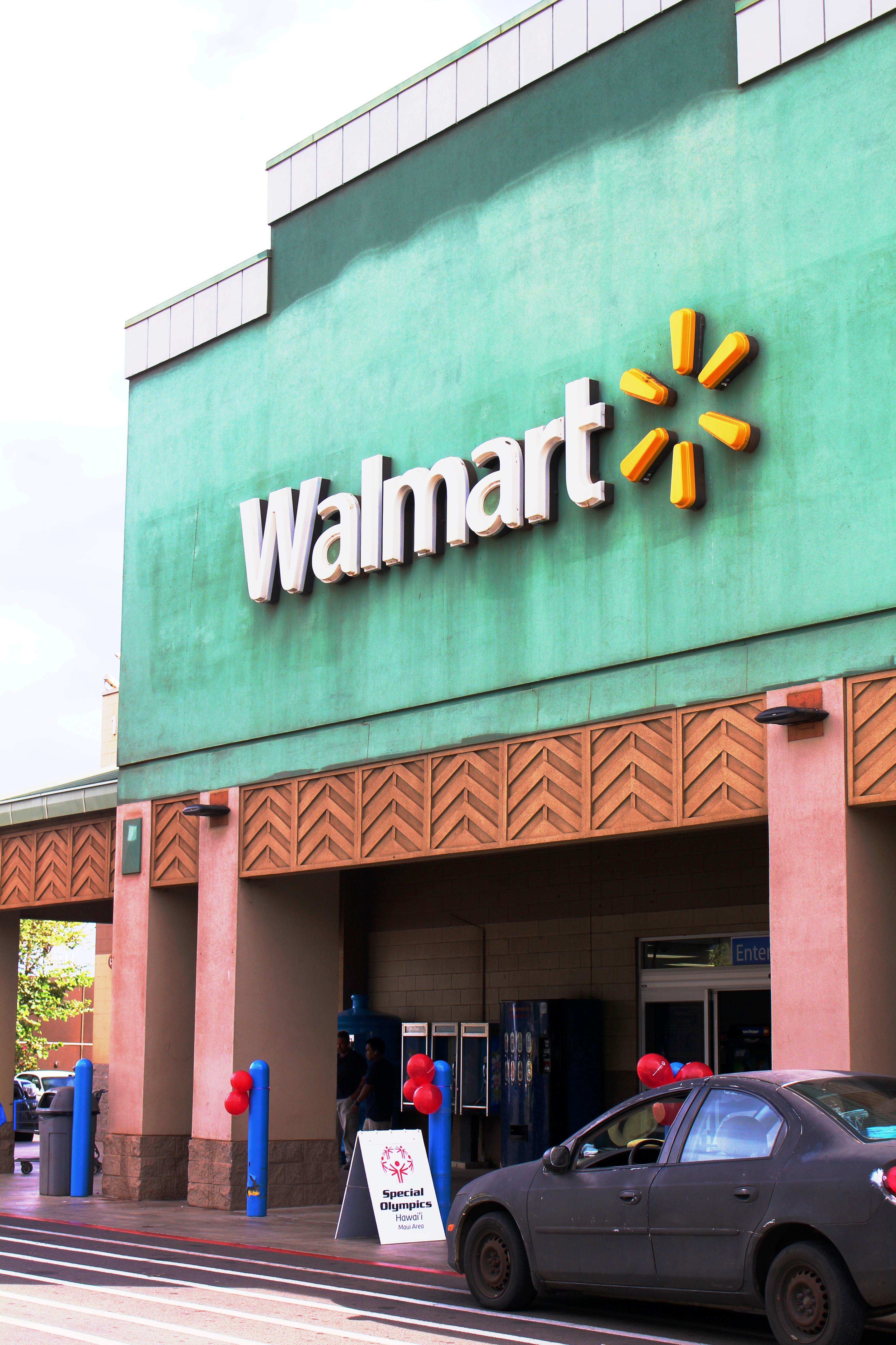 Walmart, Kahului. 2014 file photo by Wendy Osher.