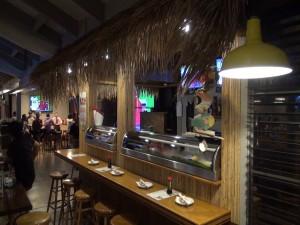 Kah sushi bar at Kahului Ale House. Photo by Kiaora Bohlool.