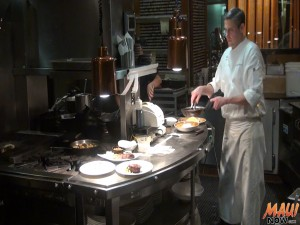 DUO head chef Michael Wilson leads the kitchen during Market Night. Photo by Kiaora Bohlool.