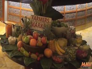 Fresh produce stand at DUO's Market Night. Photo by Kiaora Bohlool.