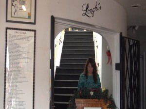 Entry to Longhi's on Front Street in Lahaina. Photo by Kiaora Bohlool.