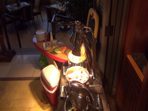 Keiki buffet to satisfy the kids during Market Night at DUO. Photo by Kiaora Bohlool.