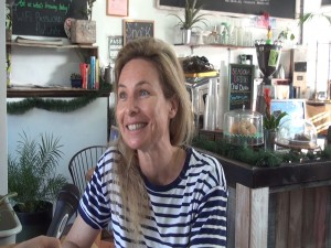 Marion Girardin, chef/owner of Belle Surf Café in Kihei. Photo by Kiaora Bohlool.