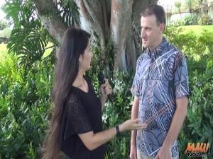 Maui Now's Kiaora Bohlool interviews Travaasa General Manager David MacIlwraith.