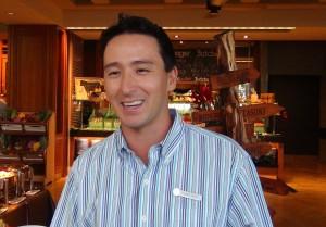 Jimmy Watt, manager of DUO at Four Seasons Resort Maui. Photo by Kiaora Bohlool.