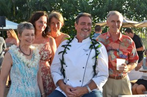 Chef Peter Merriman hosts guests at the launch of his debut cookbook. Courtesy photo.