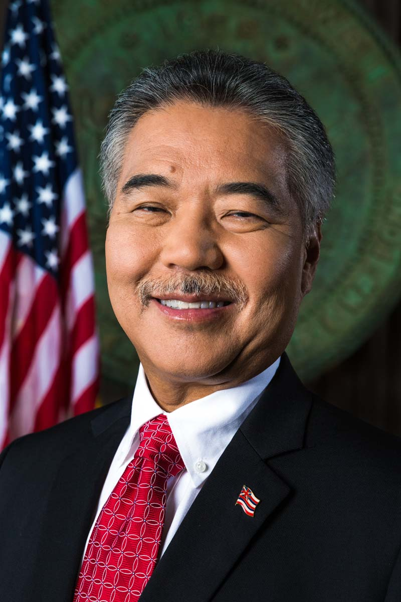Governor David Ige. Official photo.