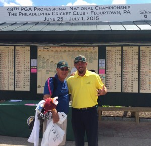 David Havens represented the ASPGA at the PGA National Championship in July in PA. His father, David Lewis Havens, caddied for him at the event.