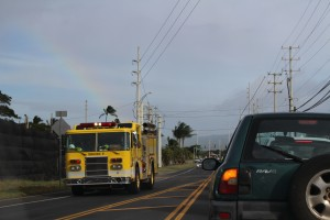 Power Outage Kahului. Photo by Wendy Osher.