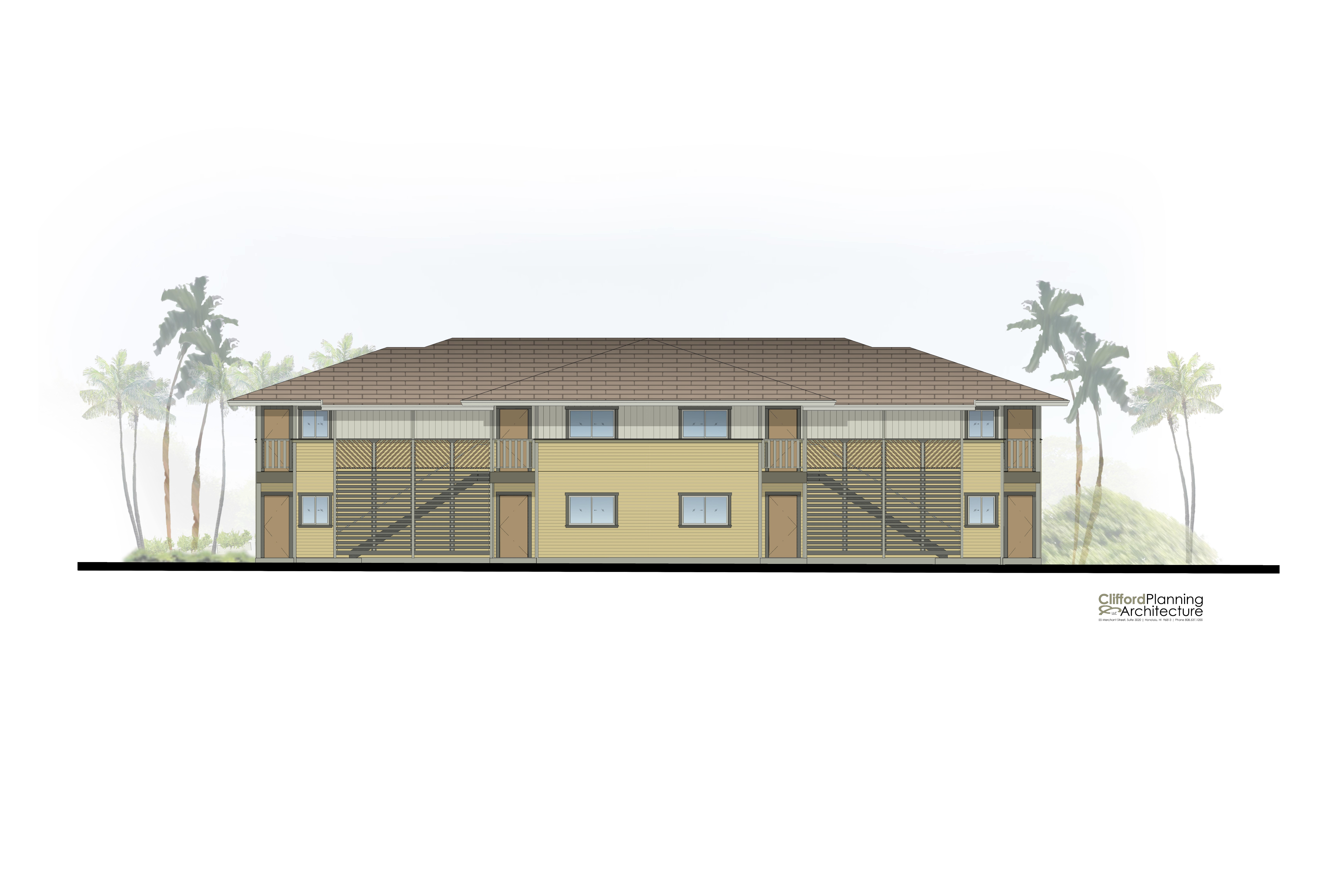 Kulamalu project illustration provided by Clifford Planning & Architecture.