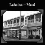 Black-and-white photo of Longhi's, in Lahaina since 1976. Courtesy photo.