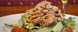 Lobster salad for lunch at Longhi's in Lahaina. Courtesy photo.