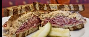 Reuben sandwich at Longhi's Front Street Kitchen. Courtesy photo.