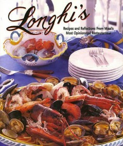 Cover of Longhi's cookbook. Courtesy photo.