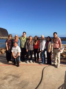 Mānele Small Boat Harbor. Photo credit: Hawaiʻi House of Representatives - Majority.