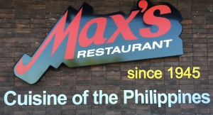 Max's Restaurant will bring Filipino food to Kahului. Photo courtesy of Autumn Wigley.