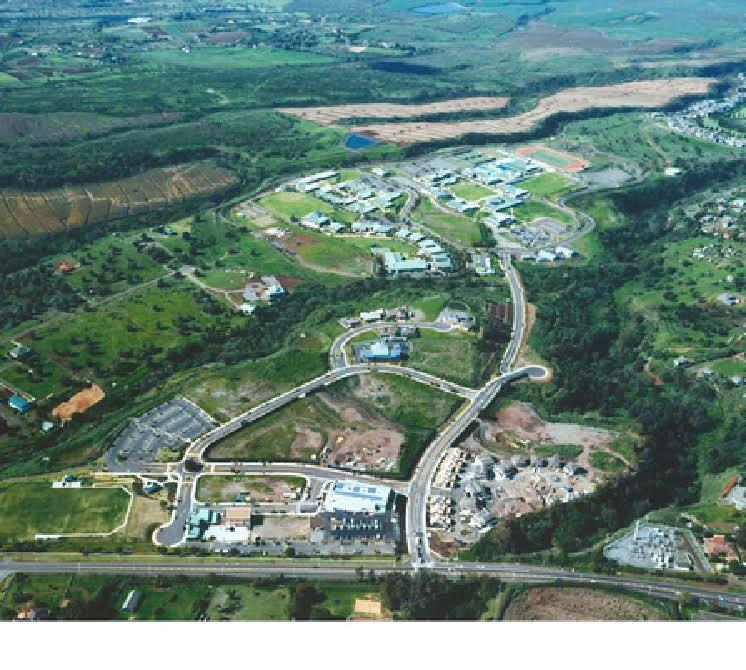 Aerial view of Kulamalu affordable rental site. Photo provided by Carol Reimann