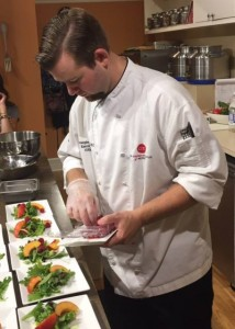 Chef demonstration at Fustini's Oils and Vinegars at The Shops at Wailea. Courtesy photo.