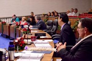 Maui County Council, Dec. 4, 2015. Photo credit: Office of Council Services.