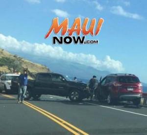 Honoapiʻilani Accident, 12/29/15. Photo credit: Liane Beado.