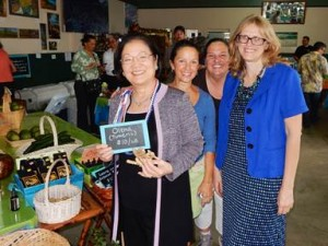 Senator Hirono visits a Hawaii small business. Courtesy photo.