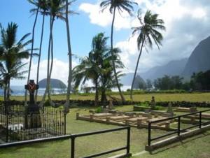 The historic Kalaupapa settlement. Courtesy photo: Office of US Senator Mazie Hirono.