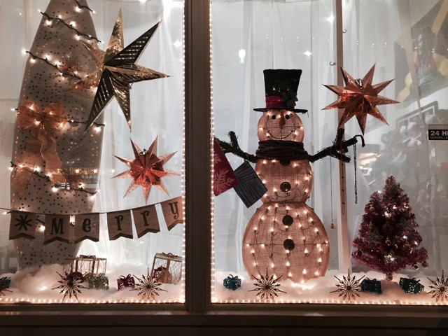 Simply Soul won the contest for Most Beautiful store front window. Photo credit: Ashley Takitani Leahey