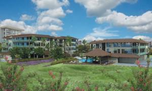 Nani Loa Condominium Hotel project rendering courtesy Chris Hart & Partners Inc. via FEA document. View looking southwest.